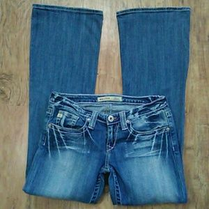 Big Star Sweet Ultra Low Rise Jeans size: 28